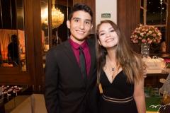 João Guilherme e Maria Fernanda Teixeira