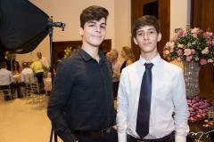 João Victor Medeiros e Francisco Neto