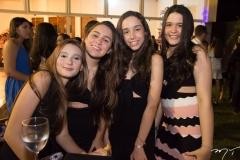 Lara Carvalho, Luana Jorge, Larissa Rios e Luana Castro