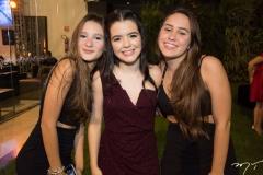 Lara Carvalho, Sofia Luz e Luana Jorge