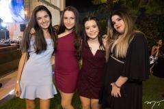 Luana Albuquerque, Júlia Maria, Sofia Luz e Bianca Bessa