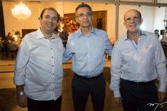 Luiz Salviano, Enoque Pinto e Eudes Bastos