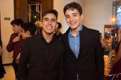 Paulo Henrique e Adriano Martins