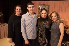 Silvana e Arthur Bezerra, Clébia Cunha e Andrea Gesteira