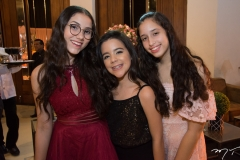 Vanessa Ponte, Elise Luz e Jéssica Sousa
