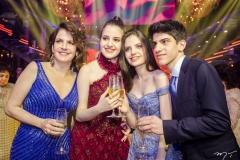 Andiara, Chiara, Sophia e Pedro Ary