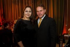 Catherine Jereissati e Rodrigo Goiana