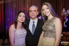 Fran Rocha, Claudio e Camila Rocha