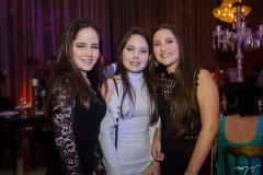 Izabele Vasconcelos, Júlia Vasconcelos e  Maria Eduarda Teles