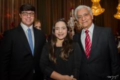 João Paulo Guedes, Alódia Guedes e Paulo Sérgio