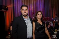 Leandro Braga e Maria Aldenir