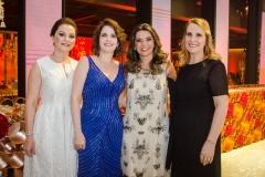 Lucia Praciano, Andiara Ary, Márcia Travessoni e Rose Macedo
