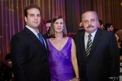 Paulo Salin, Elizabeth  Daeh e Ademar Gondim