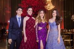 Pedro, Chiara, Paloma e Sophia