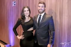 Amanda Timbó e Igor Pinheiro
