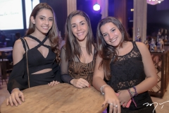 Caterina Indelicato, Julina Lima e Clara Oliveira