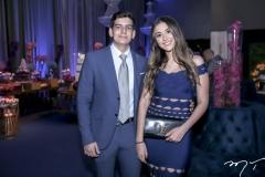 Davi Melo e Marcela Arrais