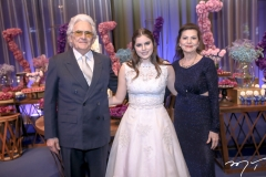 Geraldo, Manoela e Lucia Arrais