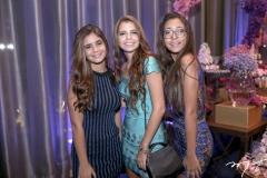 Julia Novais, Sara Lopes e Elena Ilario