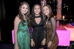 Larissa Cruz, Luiza Assunção e Julia Lima