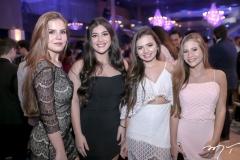 Lorena Sanai,Bianca Melo, Elita Abreu e Luiza Clemente