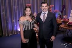 Priscila Lima e Paulo Magalhães