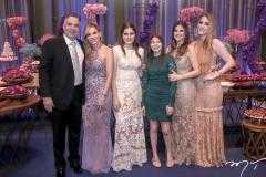 Rocha e Sandra Rocha, Manoela,Sofia,Amanda e Vitoria Arrais