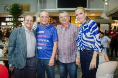 José Airton Boris, João Soares Neto, Freire Neto e Alairtes Melo
