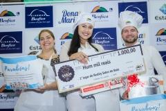 Raquel Máximo, Nataly Oliveira e Misael Sales