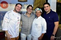 Chef Demetrio, Diego Carvalho, Ana Campos e David Bezerra