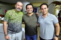 Cláudio Silveira, Alan Bringel e João Victor Fiuza