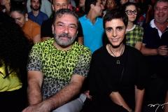 Cláudio Silveira e Lilian Pacce