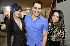 Janaina Magalhães, Francisco Campelo e Monica Benevides