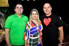 Josias Carneiro, Diele Queiroz e Freitas Junior
