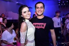 Maria Eduarda Cavalcante e Leonardo Carvalho