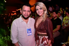 Roberto Alves e Kamila Lima