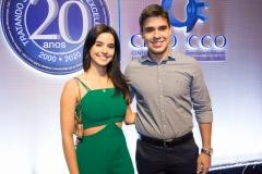 Amanda Carvalho e Pedro Franco