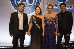 André Jucá, Gyna Machado, Natália Varela e Magno Alves