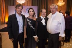 André Jucá, Gyna Machado, Tânia e Roberto Macedo