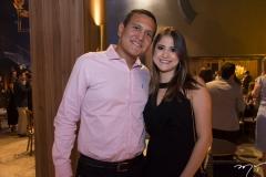 Gledson Leitão e Franciele Rodrigues