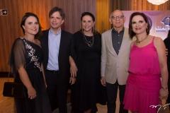 Gyna Machado, André Jucá, Beatriz Fiúza, Jerson Fonteles e Ana Maria Jucá