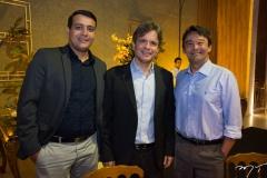 Isaac Girão, André Jucá e Alberto Júnior