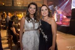 Márcia Travessoni e Gyna Machado