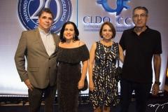 Marcos e Ana Cristina Negreiros, Cibele e José Isa