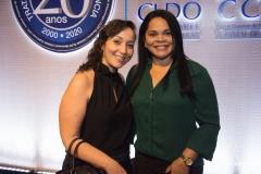 Priscilla Galindo e Sandra Dantas