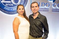 Regina Cláudia e Álvaro Fernandes