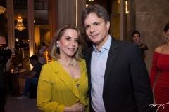 Vanda Machado e André Jucá