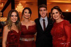 Camilla Goes, Anne Aguiar, João Pedro e Irene Serenario