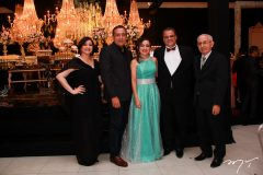 Georgia Viana, Viana Junior, Luana e Armando Moraes, e Francisco Viana