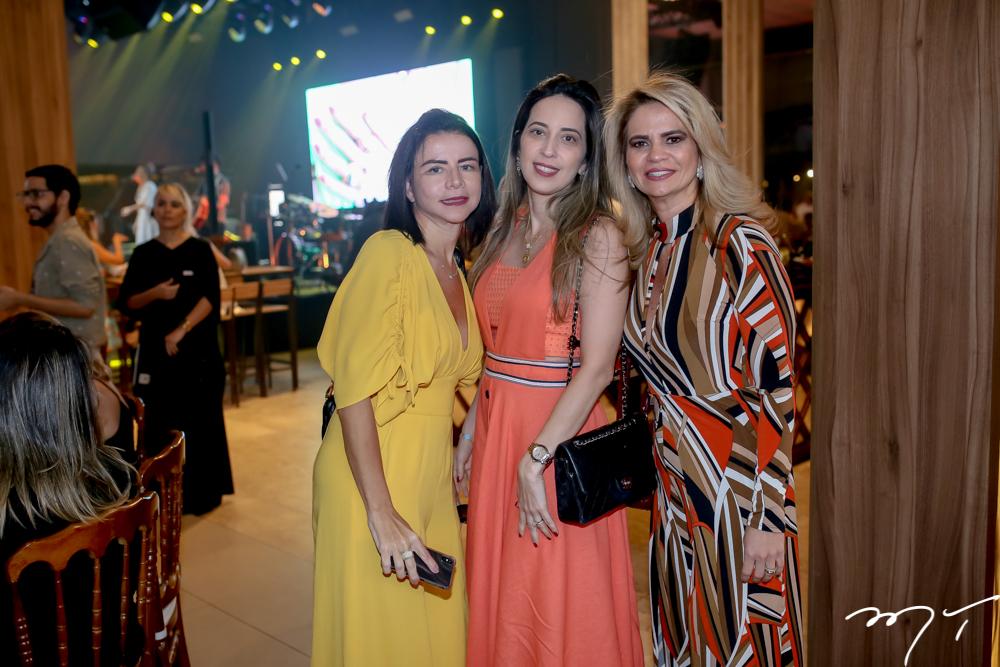 Cláudia e Dulce Fujita e Germana Cavalcante